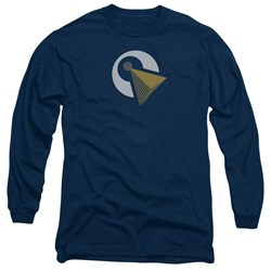 Star Trek Discovery - Mens Vulcan Logo Long Sleeve T-Shirt