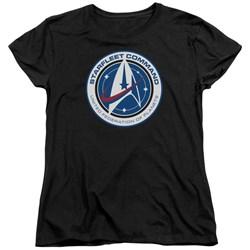Star Trek Discovery - Womens Starfleet Command T-Shirt