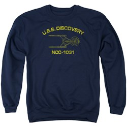 Star Trek Discovery - Mens Discovery Athletic Sweater
