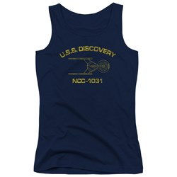 Star Trek Discovery - Juniors Discovery Athletic Tank Top