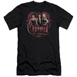 Charmed - Mens Charmed Girls Premium Slim Fit T-Shirt