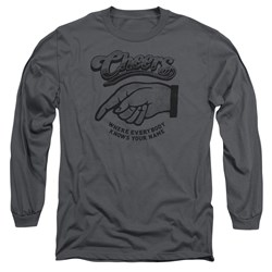 Cheers - Mens The Standard Long Sleeve T-Shirt