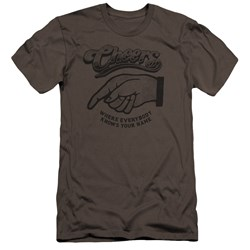Cheers - Mens The Standard Premium Slim Fit T-Shirt