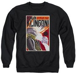 Star Trek Discovery - Mens Remain Klingson Poster Sweater
