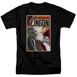 Star Trek Discovery - Mens Remain Klingson Poster T-Shirt