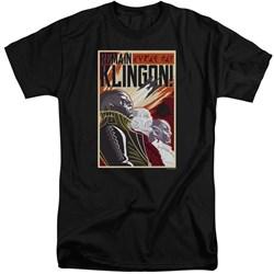 Star Trek Discovery - Mens Remain Klingson Poster Tall T-Shirt