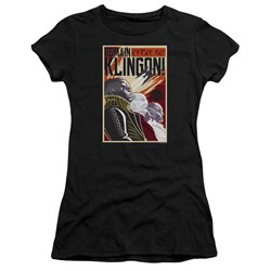 Star Trek Discovery - Juniors Remain Klingson Poster T-Shirt