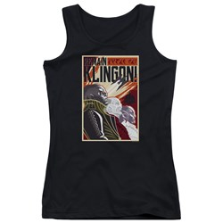 Star Trek Discovery - Juniors Remain Klingson Poster Tank Top