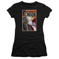 Star Trek Discovery - Juniors Remain Klingson Poster Premium Bella T-Shirt