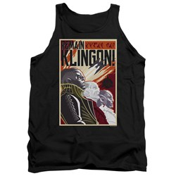 Star Trek Discovery - Mens Remain Klingson Poster Tank Top