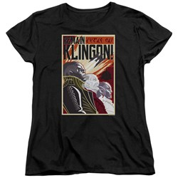 Star Trek Discovery - Womens Remain Klingson Poster T-Shirt