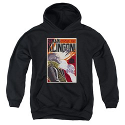Star Trek Discovery - Youth Remain Klingson Poster Pullover Hoodie