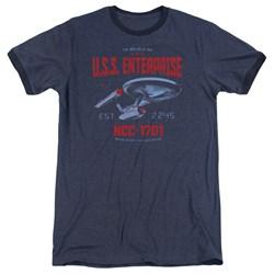 Star Trek - Mens Stardate 2245 Ringer T-Shirt