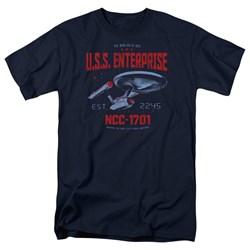 Star Trek - Mens Stardate 2245 T-Shirt