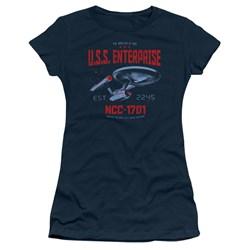 Star Trek - Juniors Stardate 2245 T-Shirt