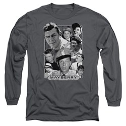 Andy Griffith - Mens Mayberry Long Sleeve T-Shirt