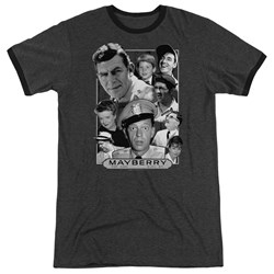 Andy Griffith - Mens Mayberry Ringer T-Shirt