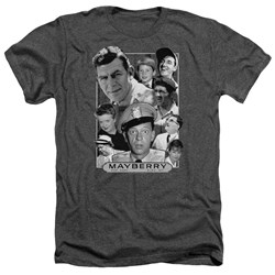 Andy Griffith - Mens Mayberry Heather T-Shirt