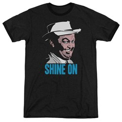 Andy Griffith - Mens Shine On Ringer T-Shirt