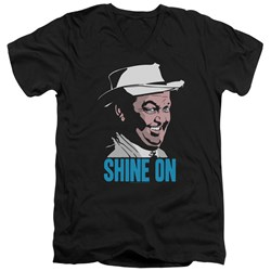 Andy Griffith - Mens Shine On V-Neck T-Shirt