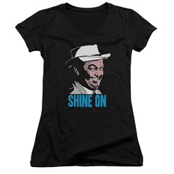 Andy Griffith - Juniors Shine On V-Neck T-Shirt
