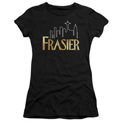 Frasier - Juniors Frasier Logo Premium Bella T-Shirt