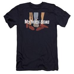 My Three Sons - Mens Shoes Logo Premium Slim Fit T-Shirt