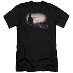 Jericho - Mens Mushroom Cloud Premium Slim Fit T-Shirt
