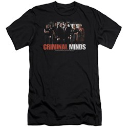 Criminal Minds - Mens The Brain Trust Premium Slim Fit T-Shirt