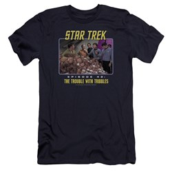 St:Original - Mens The Trouble With Tribbles Premium Slim Fit T-Shirt