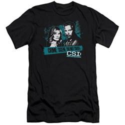 Csi - Mens Cross The Line Premium Slim Fit T-Shirt