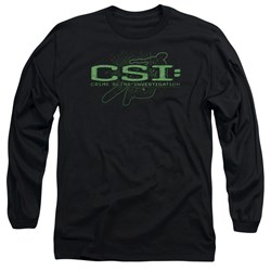 Csi - Mens Sketchy Shadow Long Sleeve T-Shirt