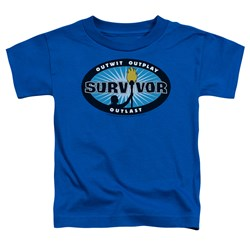 Survivor - Toddlers Blue Burst T-Shirt