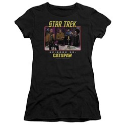 Star Trek Original - Juniors Cats Paw Premium Bella T-Shirt