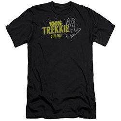 Star Trek - Mens Trekkie Premium Slim Fit T-Shirt
