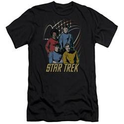Star Trek - Mens Warp Factor 4 Premium Slim Fit T-Shirt