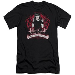 Ncis - Mens Goth Crime Fighter Premium Slim Fit T-Shirt