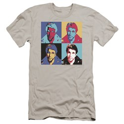 Happy Days - Mens Fonz Pop Premium Slim Fit T-Shirt
