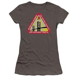Star Trek - Juniors Starfleet Academy Premium Bella T-Shirt