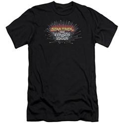 Star Trek - Mens Khan Logo Premium Slim Fit T-Shirt