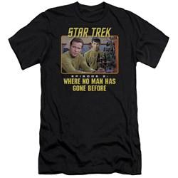 Star Trek - Mens Episode 2 Premium Slim Fit T-Shirt