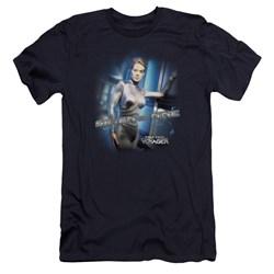 Star Trek - Mens Seven Of Nine Premium Slim Fit T-Shirt