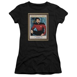 Star Trek - Juniors Employee Of Month Premium Bella T-Shirt