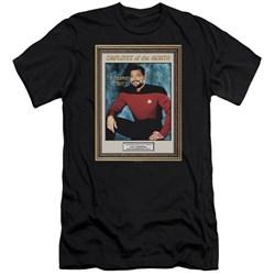 Star Trek - Mens Employee Of Month Premium Slim Fit T-Shirt