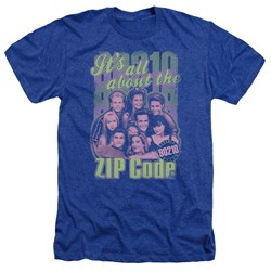 90210 - Mens Zip Code Heather T-Shirt