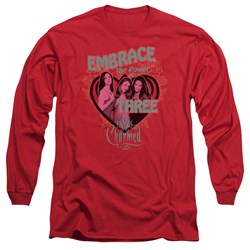 Charmed - Mens Embrace The Power Long Sleeve T-Shirt