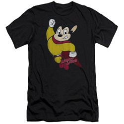 Mighty Mouse - Mens Classic Hero Premium Slim Fit T-Shirt