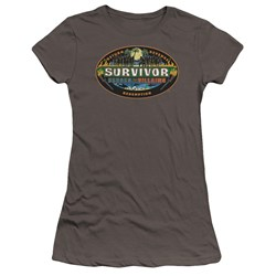 Survivor - Juniors Heroes Vs Villains Premium Bella T-Shirt