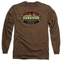 Survivor - Mens Africa Long Sleeve T-Shirt