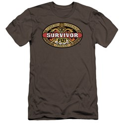 Survivor - Mens Fiji Premium Slim Fit T-Shirt